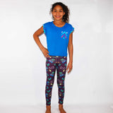 Whacky Cat Purple (second) - Girls Large - (Ready To Ship)