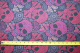Fruit Punch Paisley Skulls - in-stock