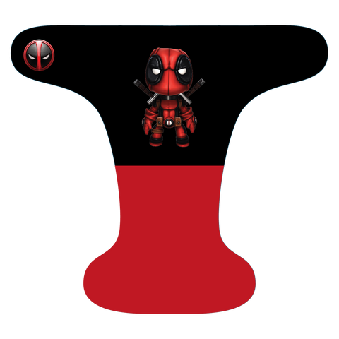 Baby Deadpool - Choose: size, outer, inner and snaps - DAY WITH WINDPRO - Hybrid Fitted