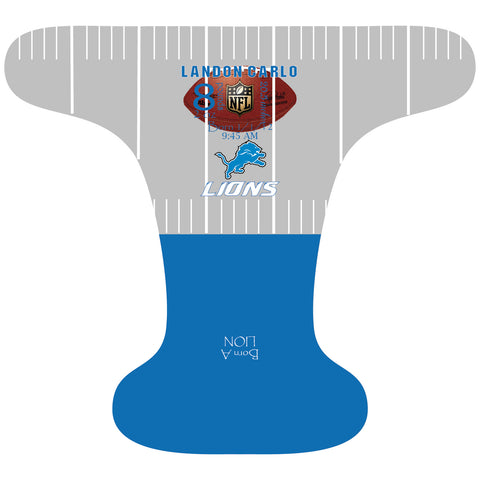 Lions Birth Stat - Custom - DAY WITH WINDPRO - Hybrid Fitted