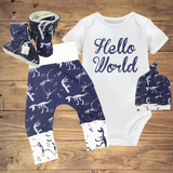 Newborn Sets - Dino Blue ($10-$45)