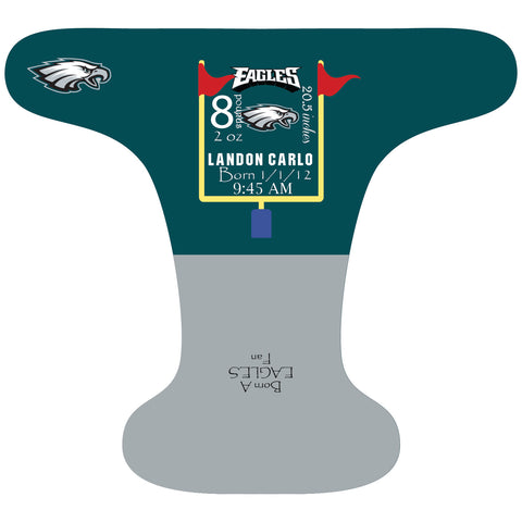 Eagles Birth Stat - Custom - DAY WITH WINDPRO - Hybrid Fitted