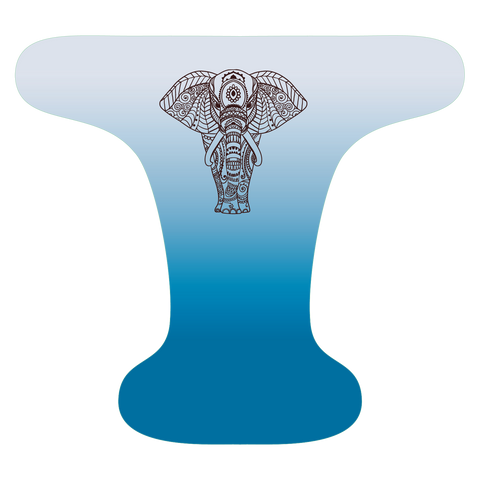 Indian Elephant Blue - Custom - Made to Order