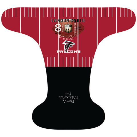 Falcons Birth Stat - Custom - DAY WITH WINDPRO - Hybrid Fitted