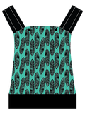 KB Carriers - Feathers Teal - RTS  $109
