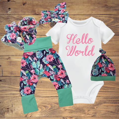 Infant Toddler Baby Sets - Succulent ($10-$50)