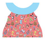 Clothing Set - Newborn - Fun Alphabet Salmon