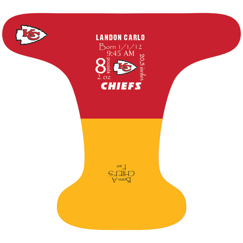 Chiefs Birth Stat - Custom - DAY WITH WINDPRO - Hybrid Fitted