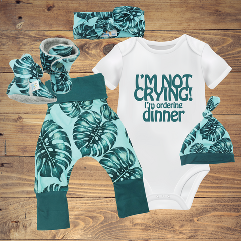 Newborn Sets - Monstera ($10-$45)