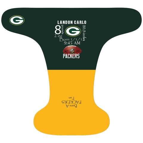 Packers Birth Stat - Custom - DAY WITH WINDPRO - Hybrid Fitted