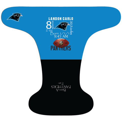 Panthers Birth Stat - Custom - DAY WITH WINDPRO - Hybrid Fitted