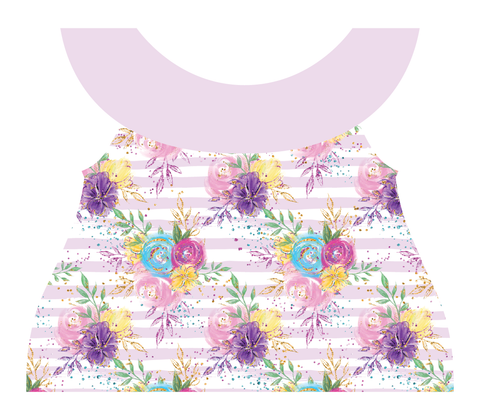 Clothing Set - Newborn - Pastel Blossom