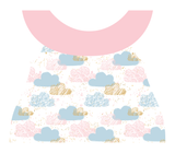 Clothing Set - Newborn - Pastel Clouds