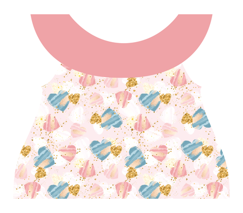 Clothing Set - Newborn - Heart Dance