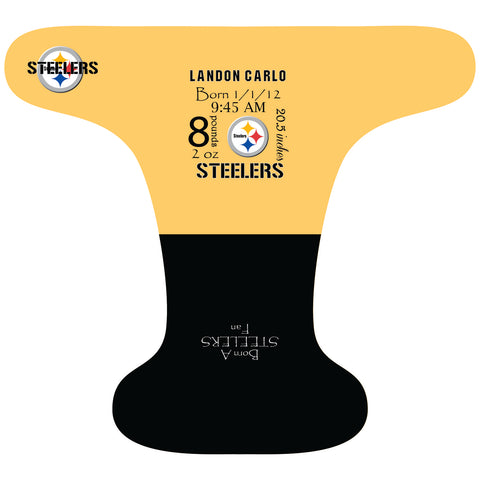Steelers Birth Stat - Custom - DAY WITH WINDPRO - Hybrid Fitted