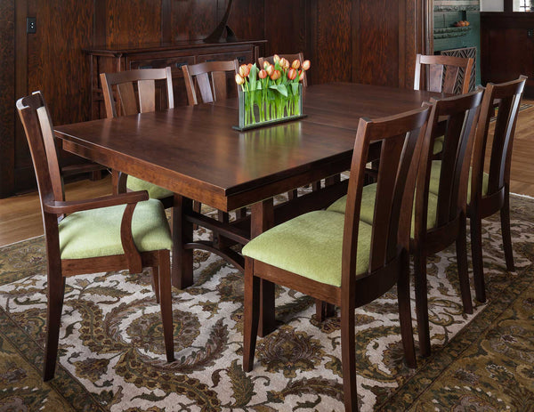 Bridgeport Trestle Dining Table - Customer Photo