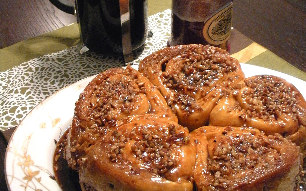 Maple Pecan Roll Recipe