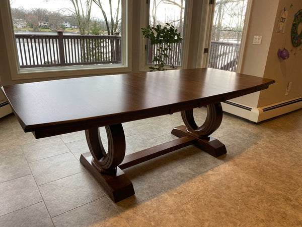 Saratoga Trestle Table - Customer Photo