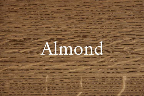 Almond on Quarter Sawn White Oak