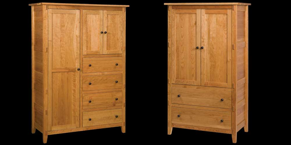 Bungalow Armoire and Bungalow Chifferobe | Home and Timber