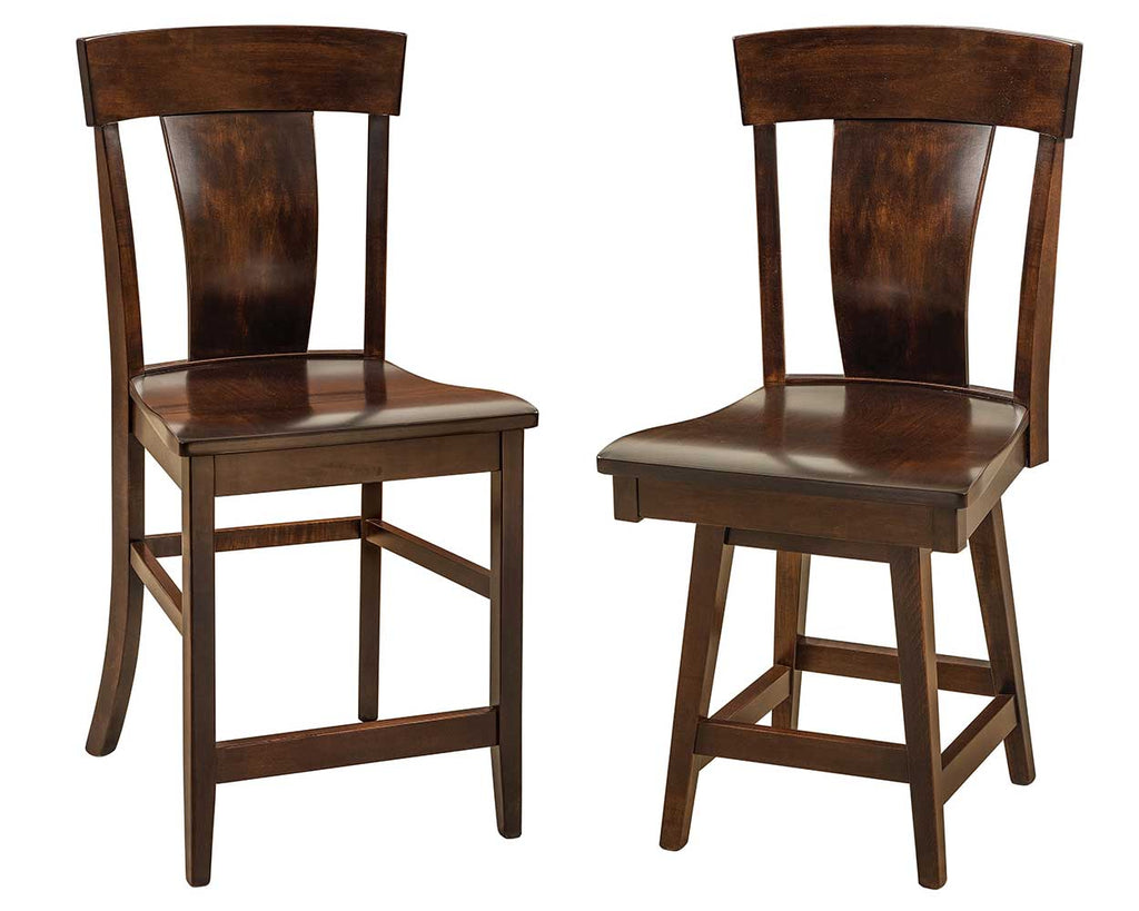 Baldwin Solid Wood Bar Chair Double | Home and Timber