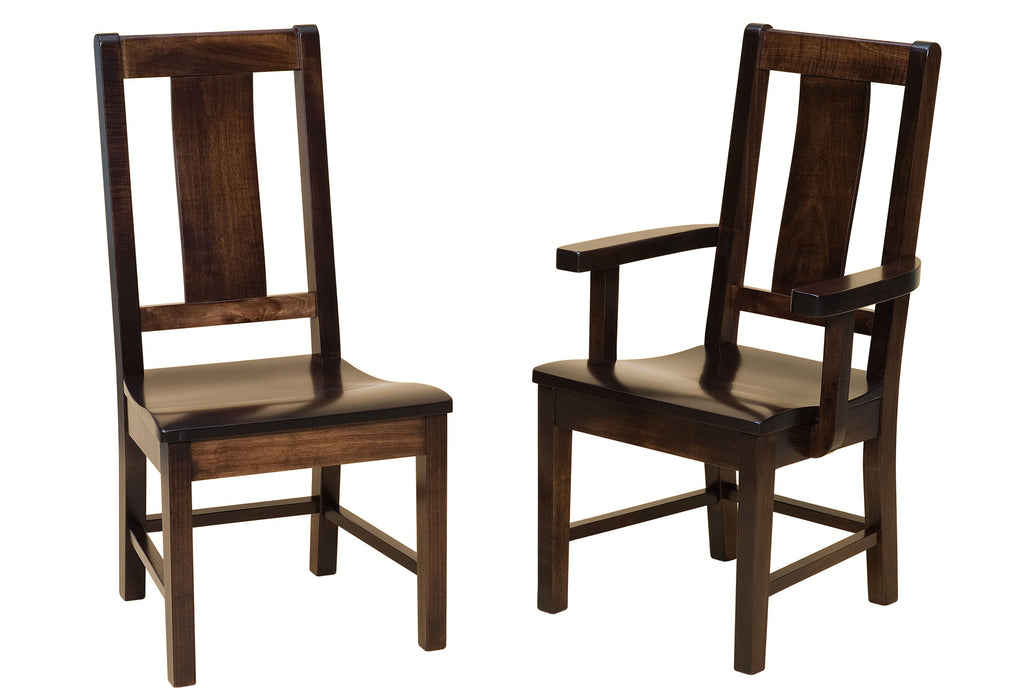 Benson Hardwood Dining Chair Double | Home and Timber