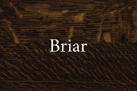 Briar on Quarter Sawn White Oak