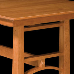 Bridgeport Trestle Table Cherry Wood Detail by Home and Timber