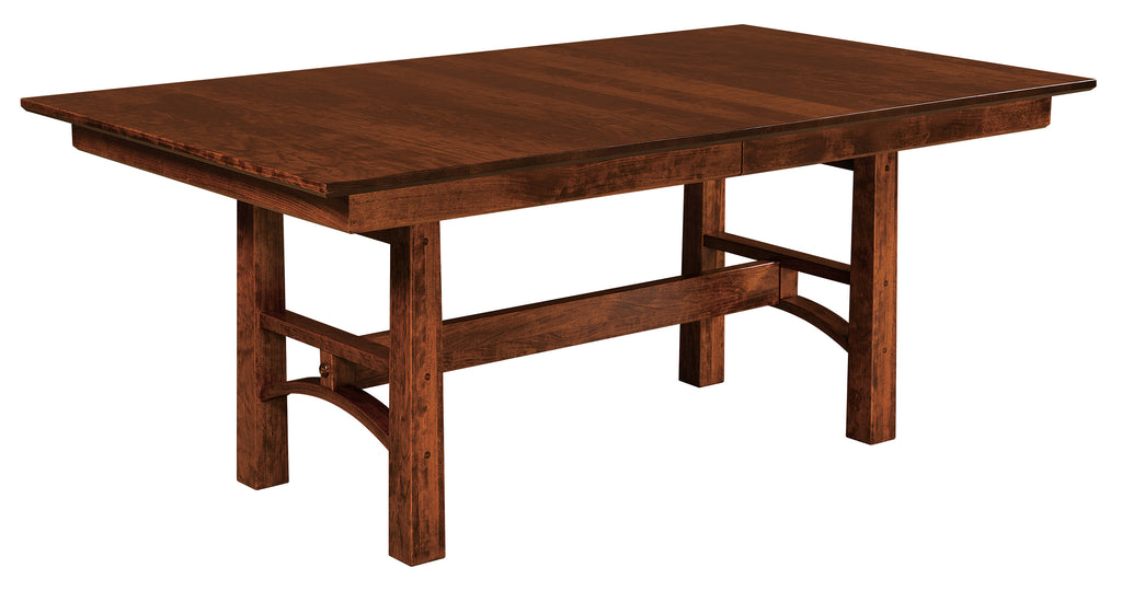 Bridgeport Trestle Extension Table | Home and Timber
