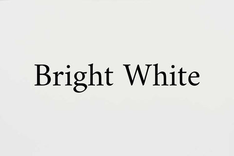 Bright White Paint Color