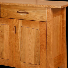 Cameron Sideboard Cherry Wood Detail by Home and Timber