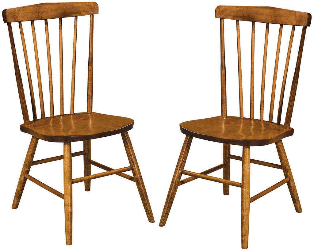 Baldwin Solid Wood Dining Chair Double | Home and Timber