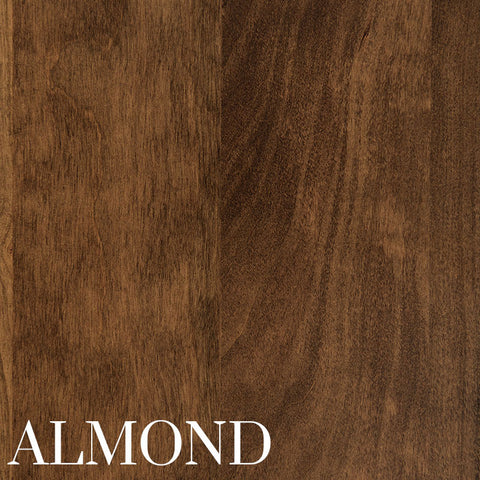 Almond Stain on Cherry Wood by Home and Timber