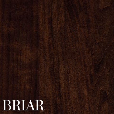 Briar Finish on Cherry Wood by Home & Timber