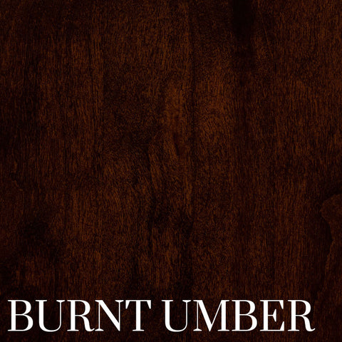 Burnt Umber Finish on Cherry Wood by Home and Timber