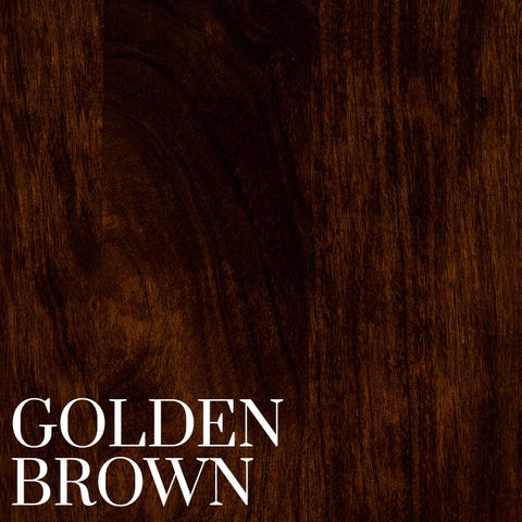Golden Brown Finish on Cherry Wood by Home and Timber