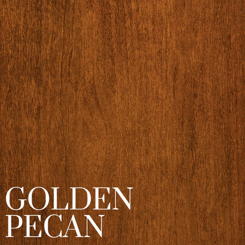 Golden Pecan Finish on Cherry Wood by Home & Timber