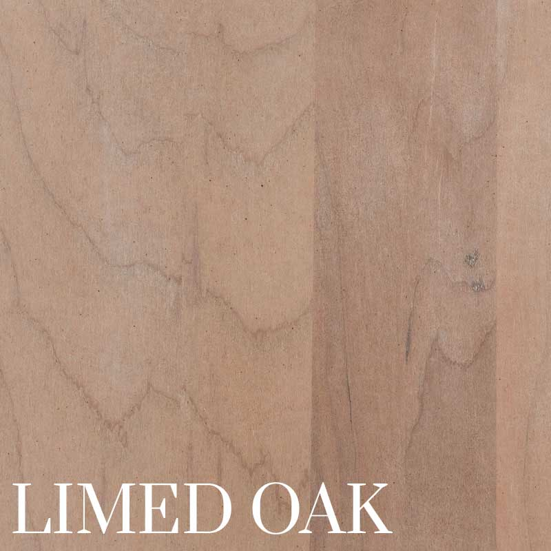 Limed Oak Finish on Cherry by Home and Timber