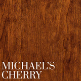 Cherry with a Michael's Cherry Finish | Stain Sample | Home and Timber