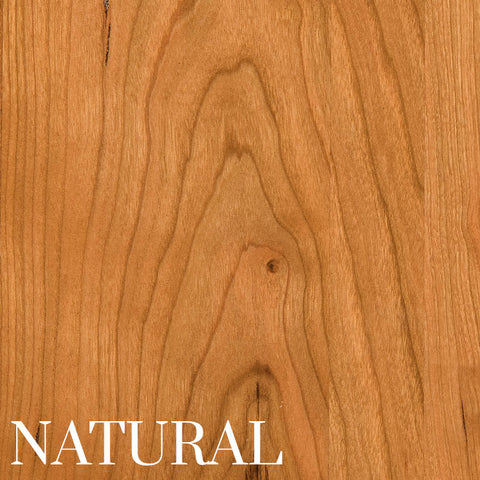 Natural Finish on Cherry Wood by Home and Timber