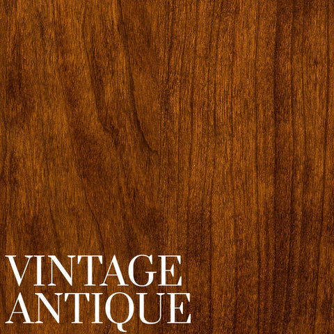 Vintage Antique Finish on Cherry Wood by Home & Timber