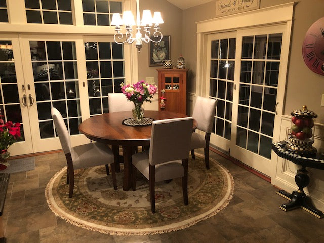 Arts & Crafts Single Pedestal - Customer Photo - Home and Timber