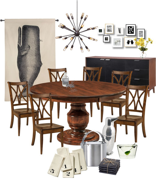 Unexpected Accents | Dining Set | Home and Timber