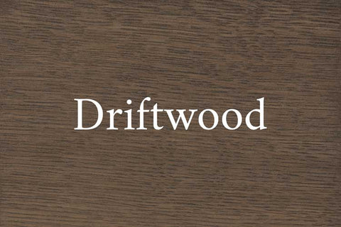 Driftwood on Quarter Sawn White Oak