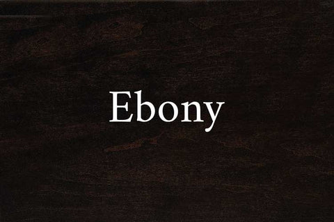 Ebony on Cherry