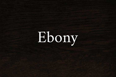 Ebony on Quarter Sawn White Oak