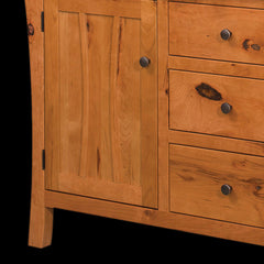 Galveston Hutch - Rustic Cherry Detail by Home and Timber