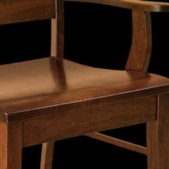 Genesis Dining Chair - Rustic Cherry Detail by Home and Timber