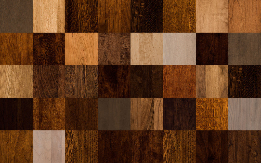 Hardwood Stain Samples | Home and Timber