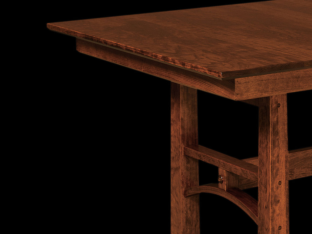 All Wood Dining Room Table Solid Wood Furniture. Made in the USA.